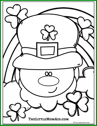 St Patrick's Coloring Page 2