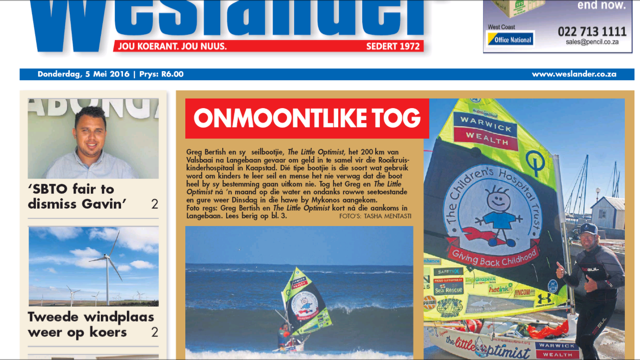Westlander Newspaper | The Little Optimist Is Jultemal Tweetaalig