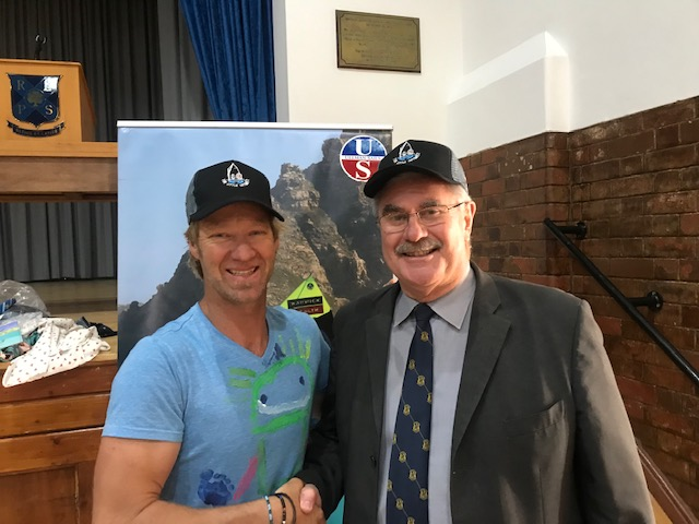 School Talk At Rondebosch Boys Primary School