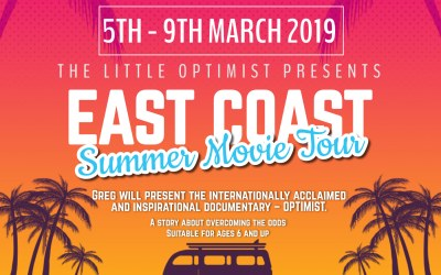 THE LITTLE OPTIMISTS EAST COAST FUNDRAISER TOUR