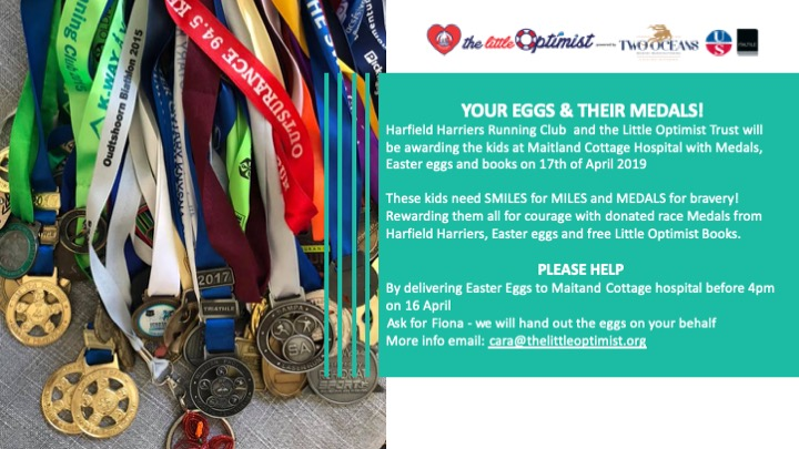 YOUR EGGS & THEIR MEDALS!