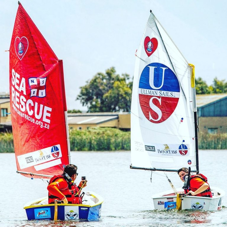 Bertish inspires little sailors