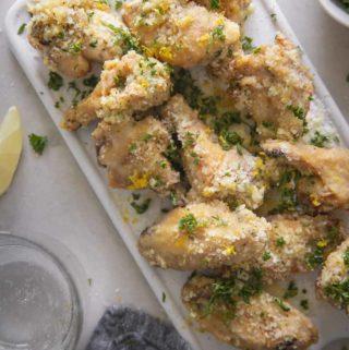 Garlic Parmesan Wings (Keto + Low Carb!)