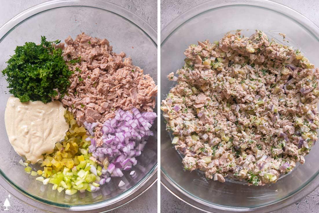 easy tuna salad ingredients