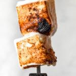 closer view of keto marshmallow fluff recipe