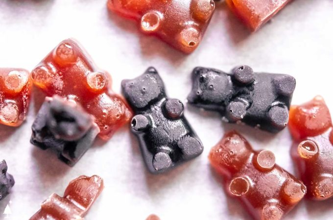 closer view of perfect keto gummy bears