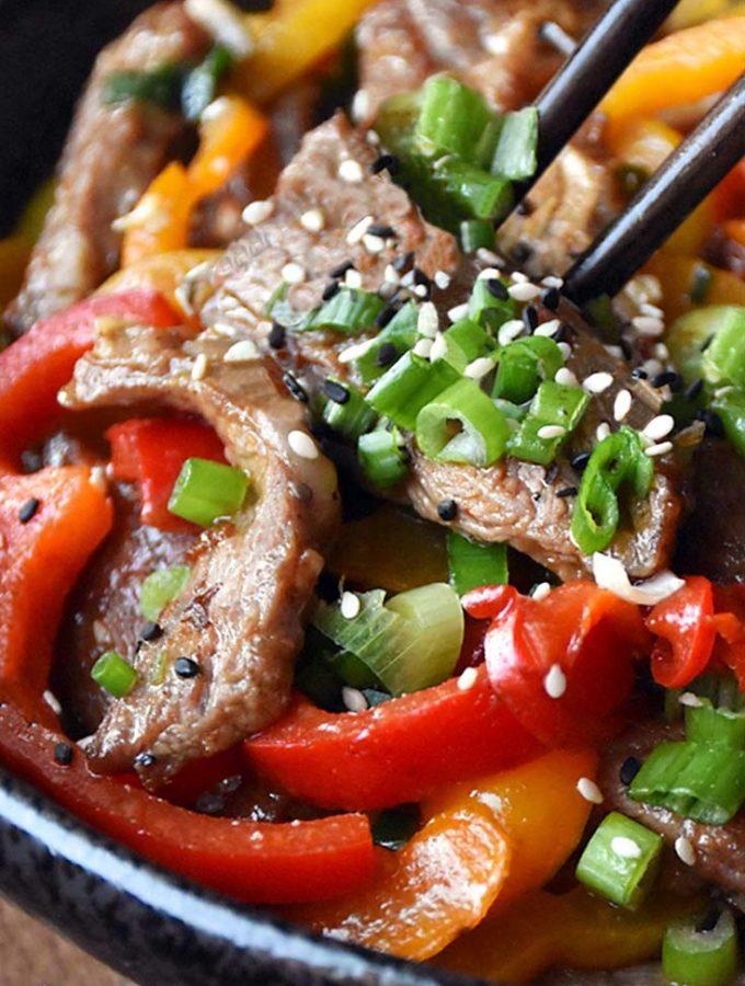 Hunan Beef (15 Minute Prep!)