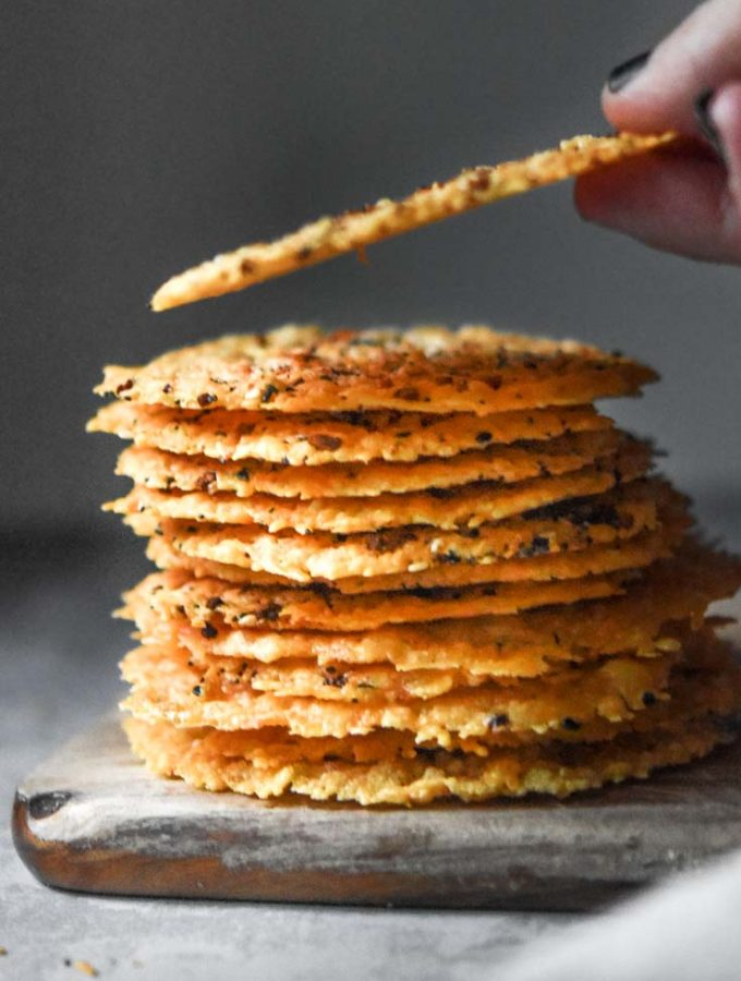 Parmesan Crisps (Easy + Low Carb!)