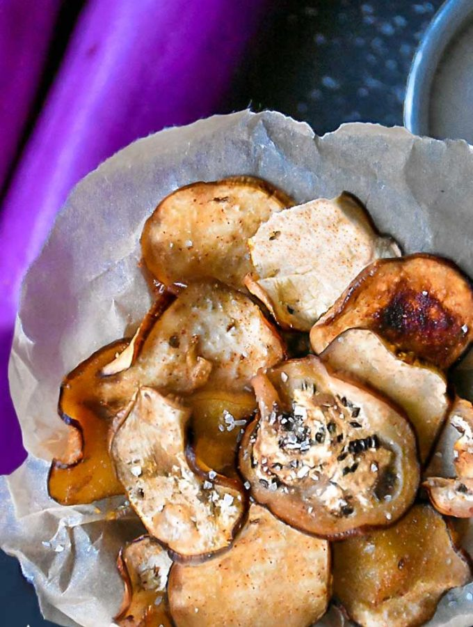 Eggplant Chips