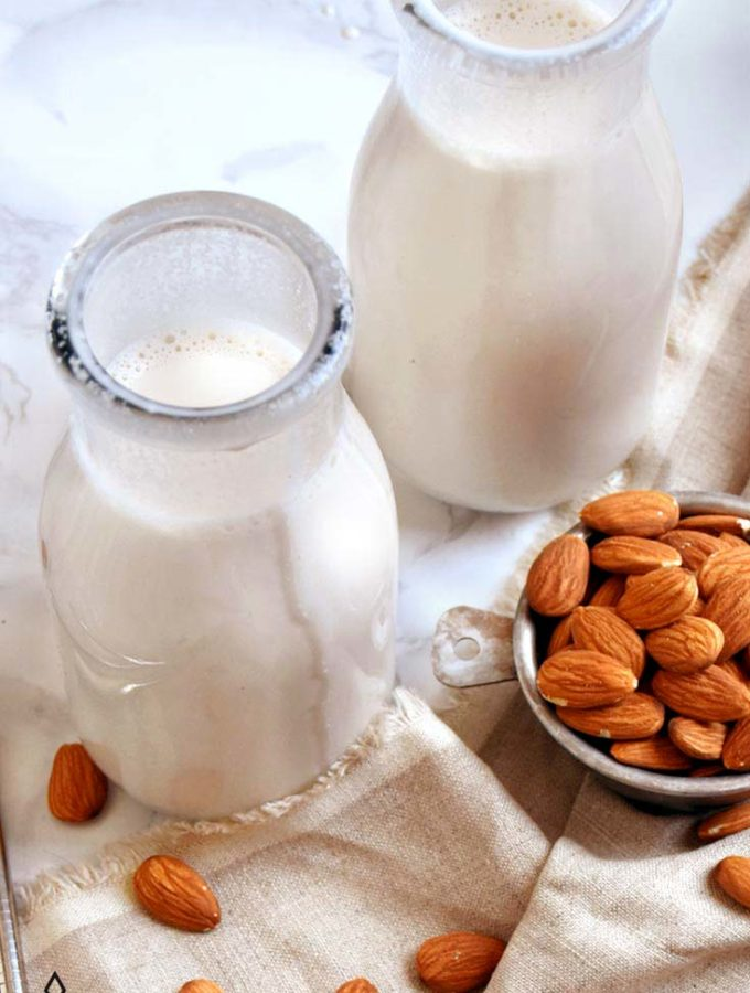 How To Make Almond Milk (SO Easy!)