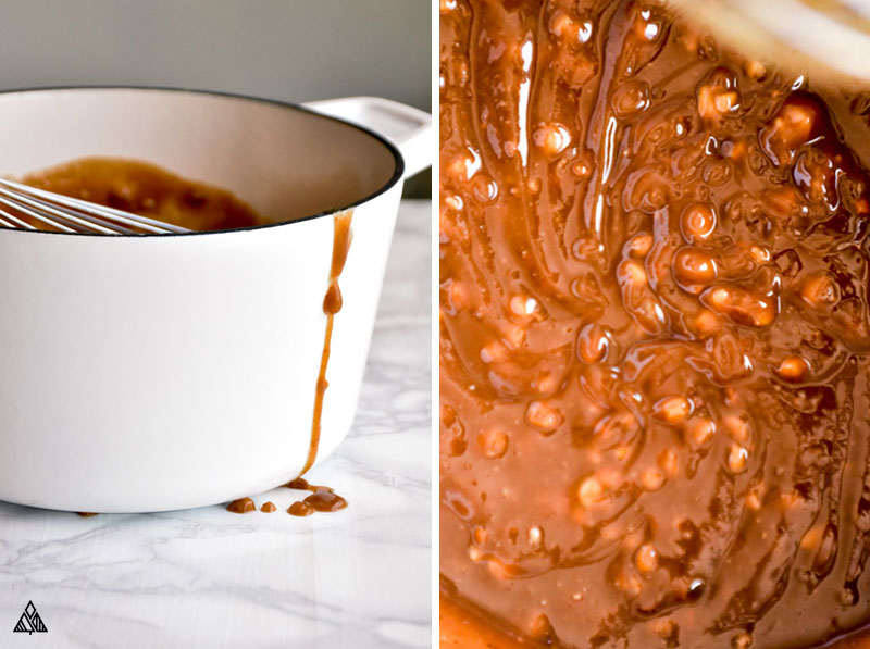 The making of Low Carb Peanut Butter Fudge