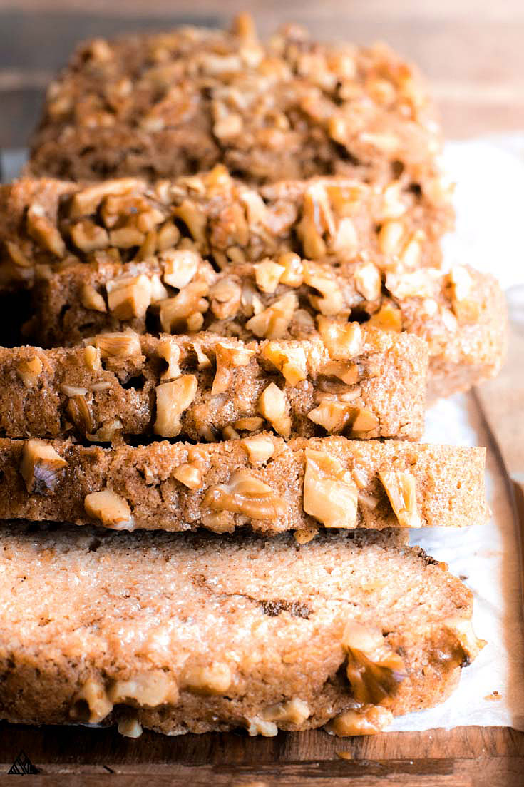 Sliced almond bread