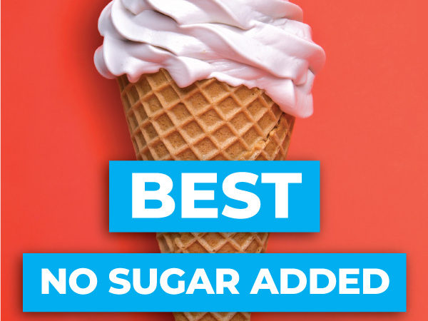 Have your ice cream and eat it too, with the top sugar free ice cream brands! Each product is no sugar added and full of DELICIOUS flavor! #lowcarb #keto #glutenfree #grainfree #healthy #printables #chart