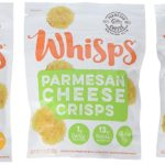 A pack of whisps paresan cheese crisps