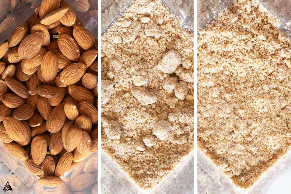how to make almond meal in a blender or food processor