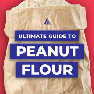Graphic of peanut flour