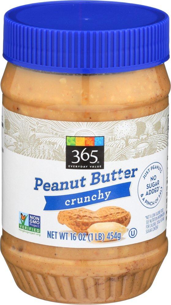 low carb peanut butter, 365 peanut butter