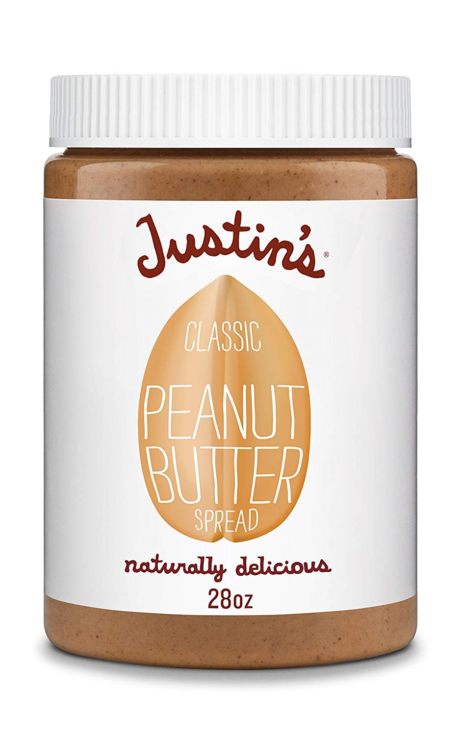 low carb peanut butter, justin's classic peanut butter