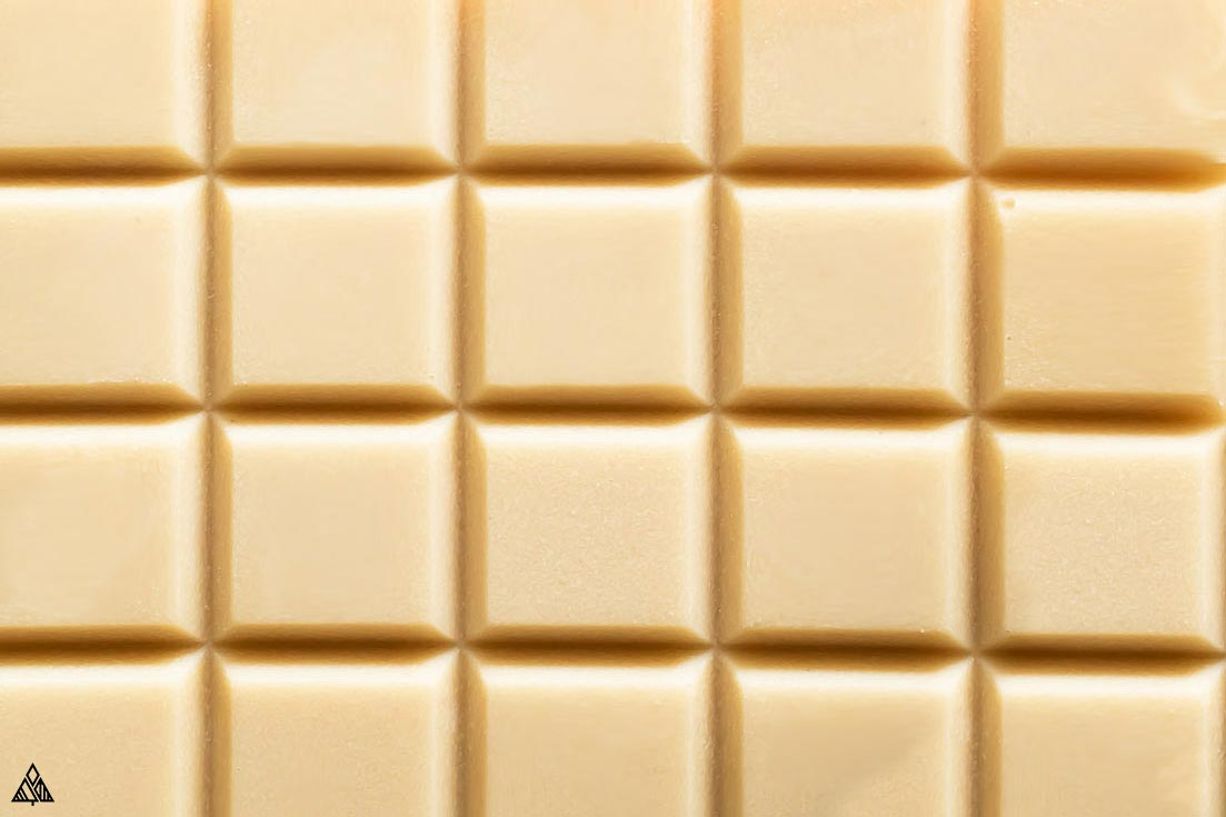 Sugar free white chocolate bars