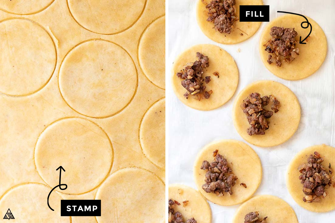 Steps for how to make Low Carb Dumplings