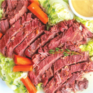 picture of instant pot corned beef