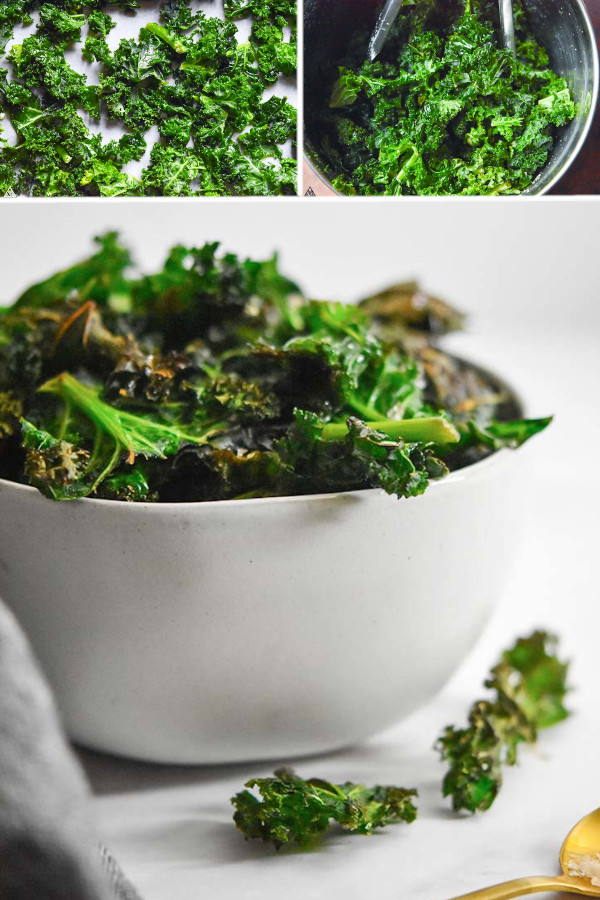 How do you feel about kale?? ?? . If you gave it a ? then you should definitely check out this kale chips recipe! It's one of my favorite keto/low carb snacks when I'm craving something salty and chip-like...#kalechips #lowcarbkalechips