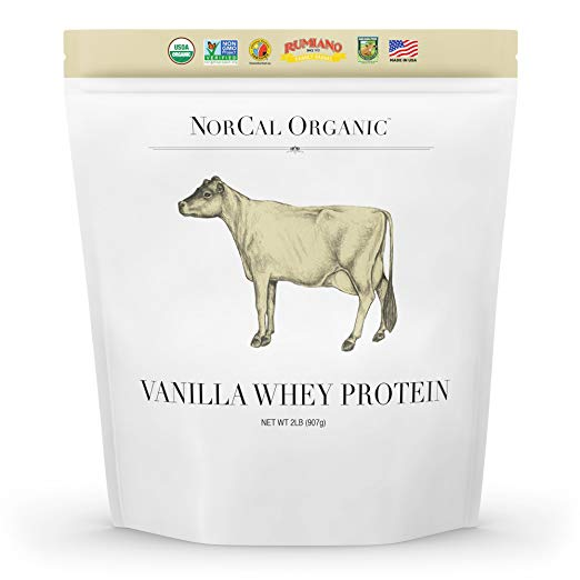low carb protein powder, norcal organic
