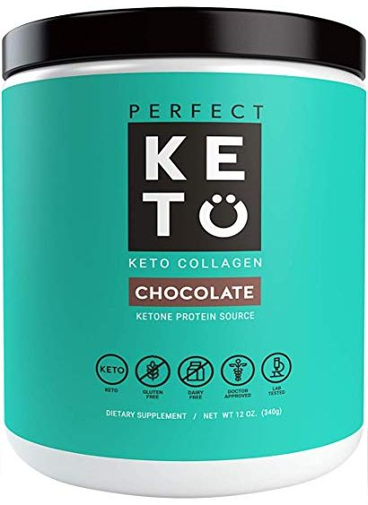 low carb protein powder, perfect keto