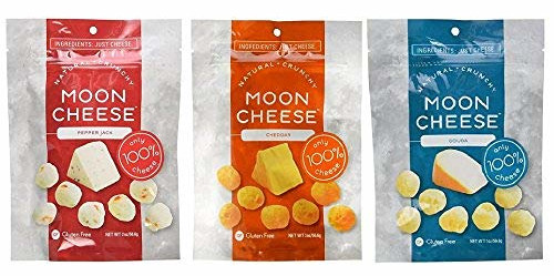 carb free snacks, moon cheese