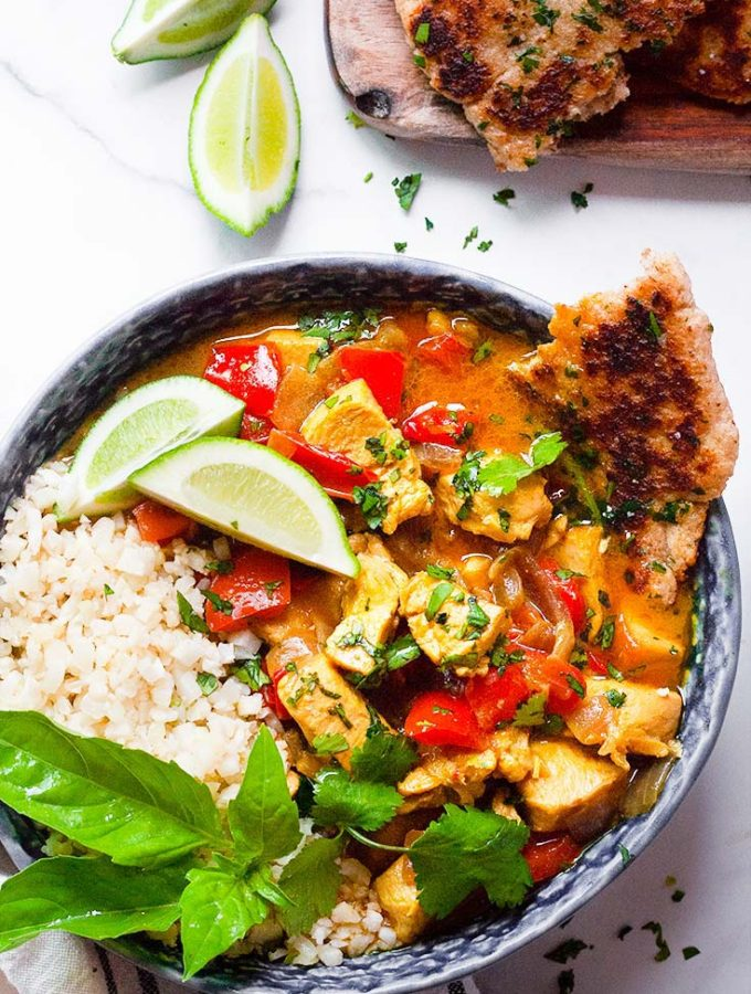 EASY Keto Curry with Chicken + Coconut – Flavor Packed!!!