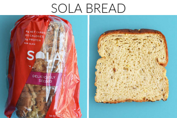Collage images of sola bread