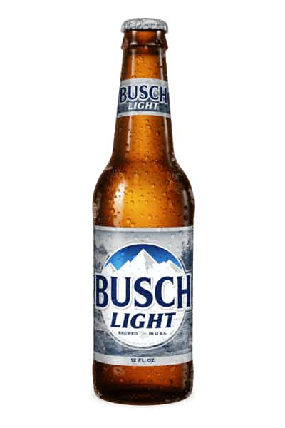 low carb beer, busch light