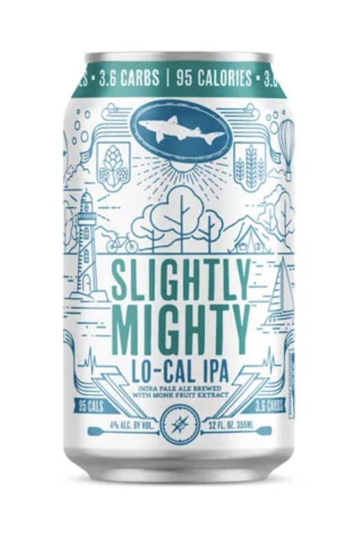 low carb beer, Dogfish Head Slightly Mighty IPA