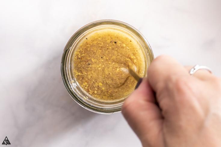 how to make mustard vinaigrette