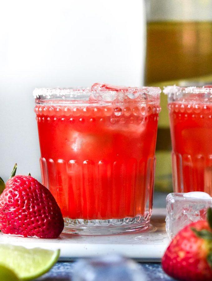 Strawberry Skinny Margarita