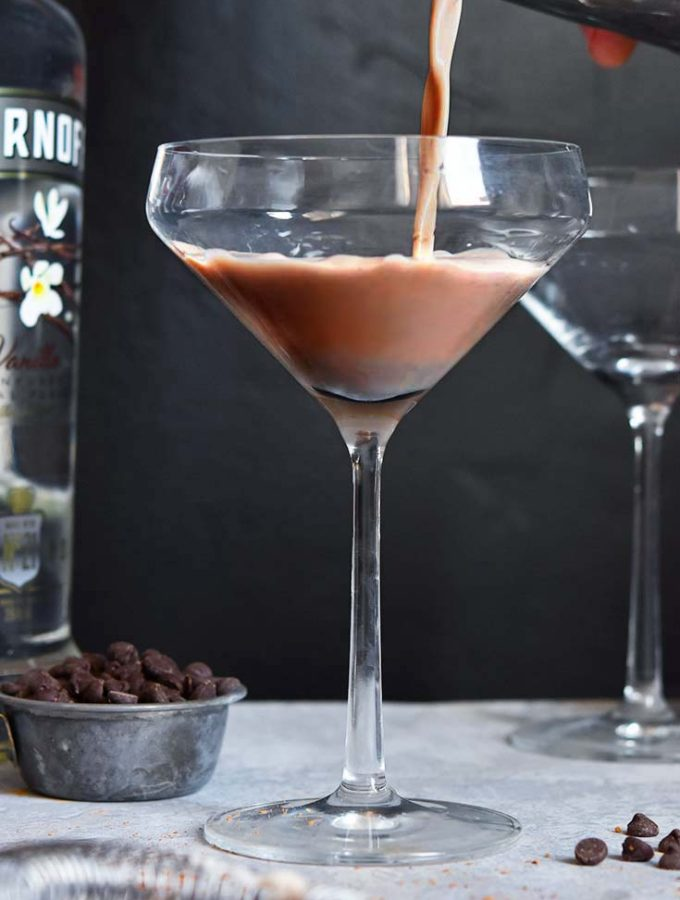 Low Carb Martini (2g Net Carbs/Cocktail!)