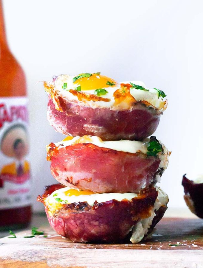 Suuper Cheesy Egg Muffin Cups!! (Low Carb + Keto!)