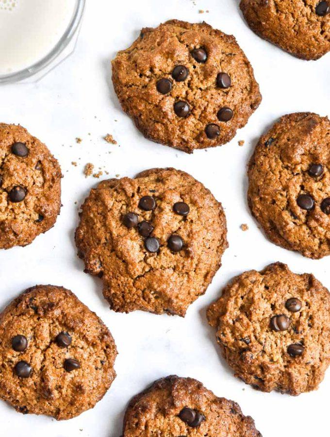 Almond Flour Peanut Butter Cookies (Paleo + Low Carb!)