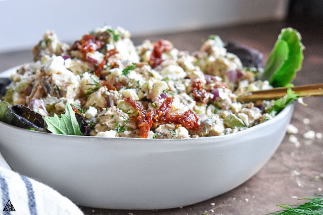 One of the best low carb chicken salad recipes is greek yogurt chicken salad