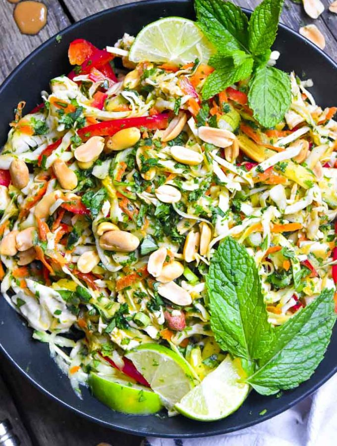 Thai Chicken Salad (Low Carb!!)