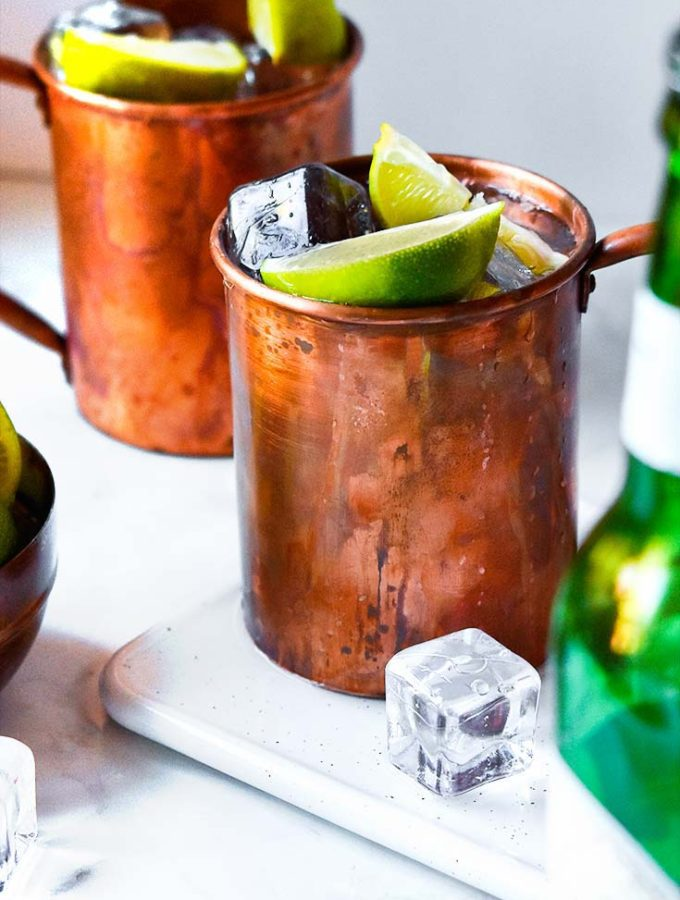 Keto Moscow Mule (3 Ingredients!)