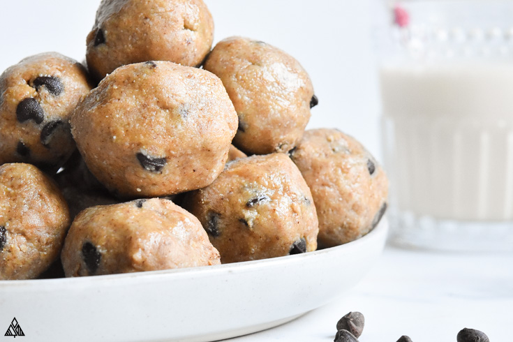 One of the best fast bombs recipe is cookie dough fat bombs