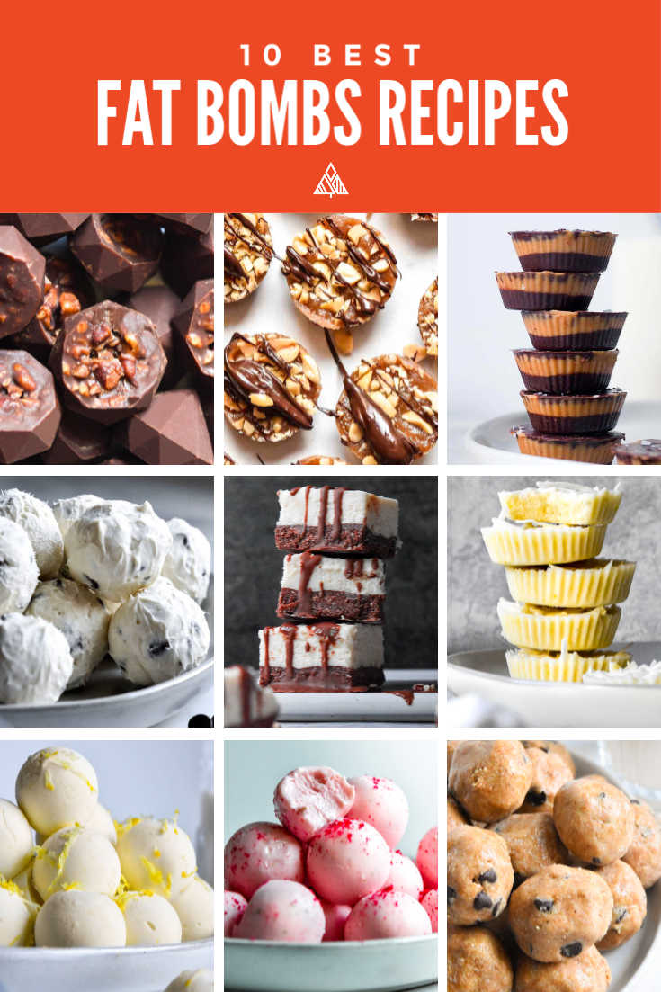 *NEW* The Best 10 Fat Bombs Recipes combines your next snack and dessert obsession into tasty, healthy truffles! #fatbombs #lowcarbfatbombs