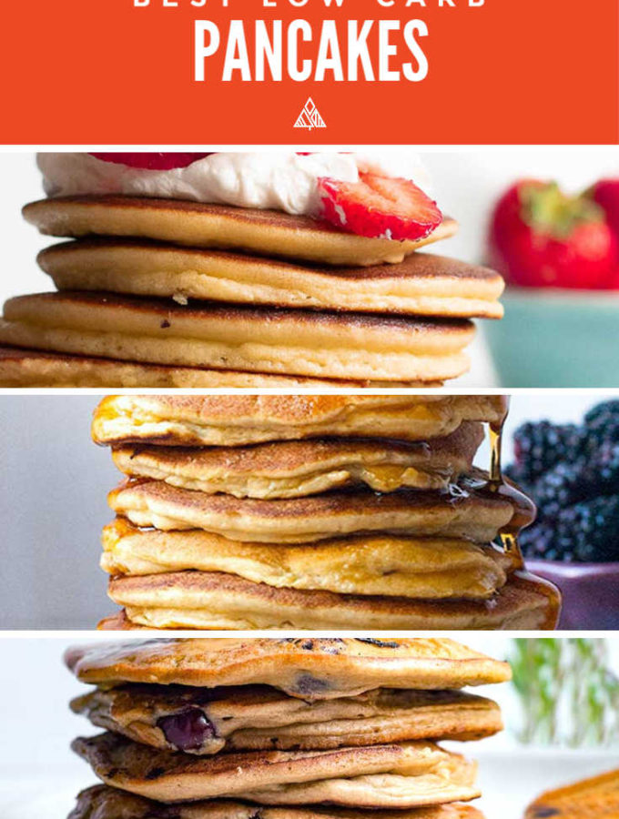3 Best Low Carb Pancakes (Keto!!)