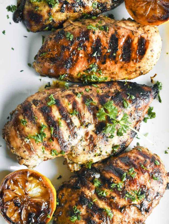 Mediterranean Chicken Marinade (Keto + Low Carb!)