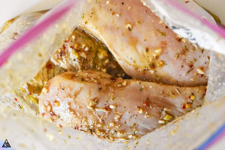 how to make a mediterranean chicken marinade