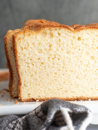 Side view of soul bread
