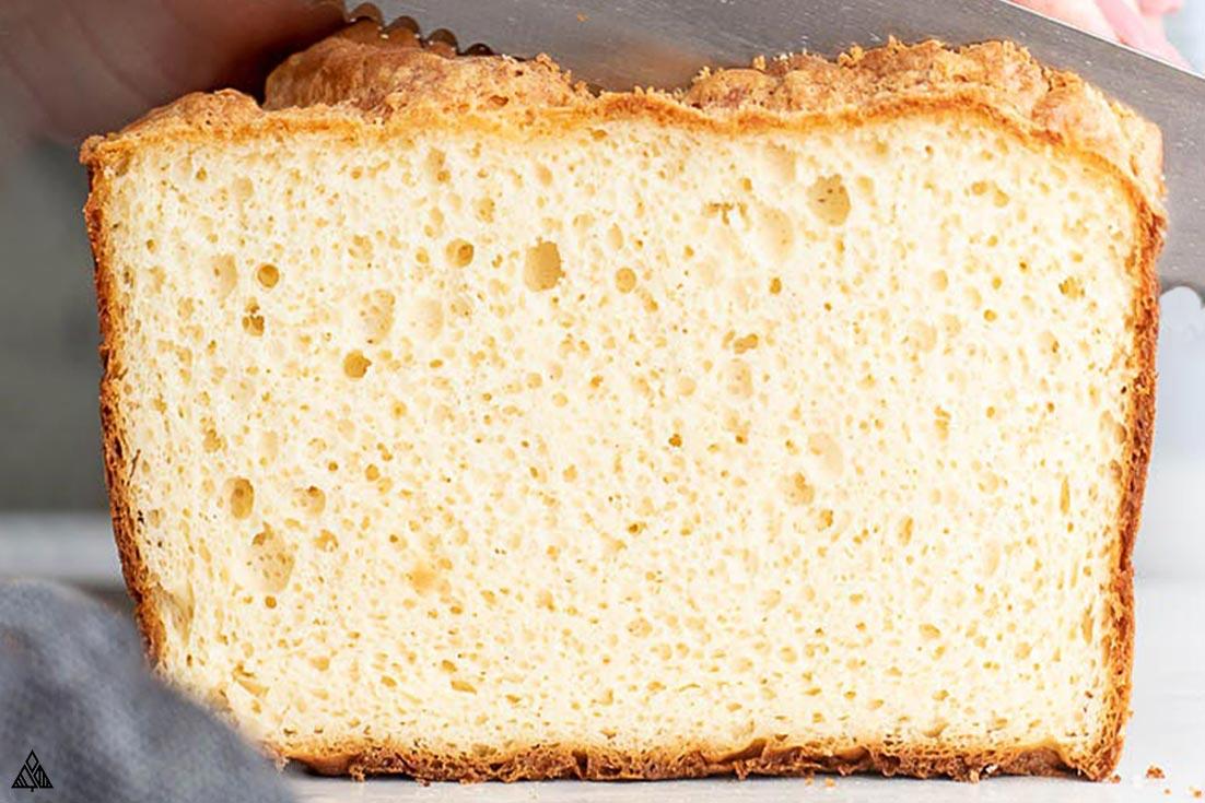 Closer look of soul bread