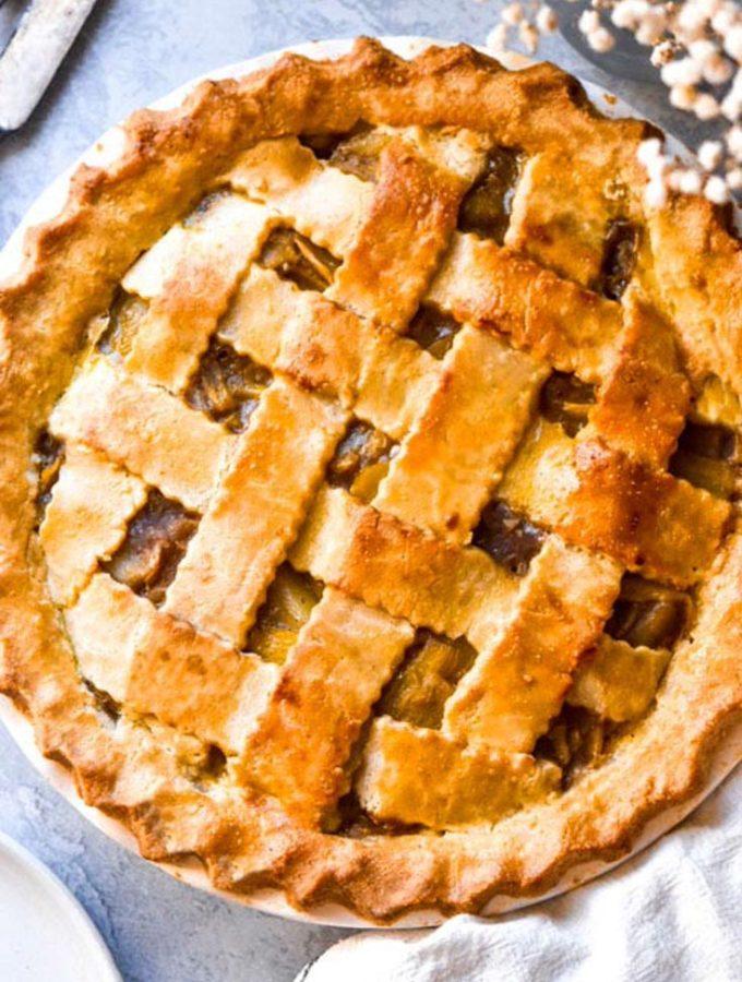 Almond Flour Pie Crust (Keto + Low Carb!)