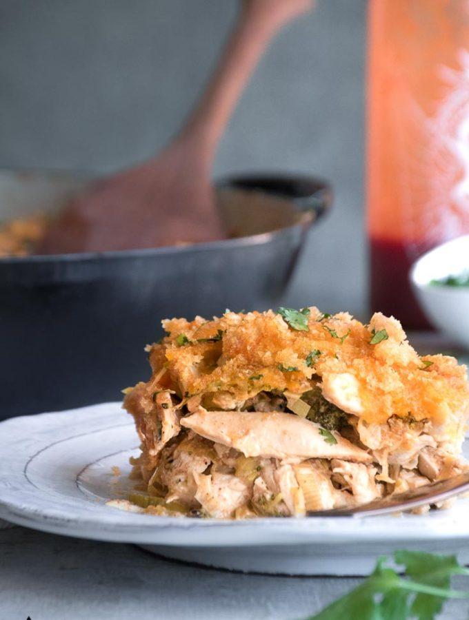Low Carb Chicken Casserole (Keto!)